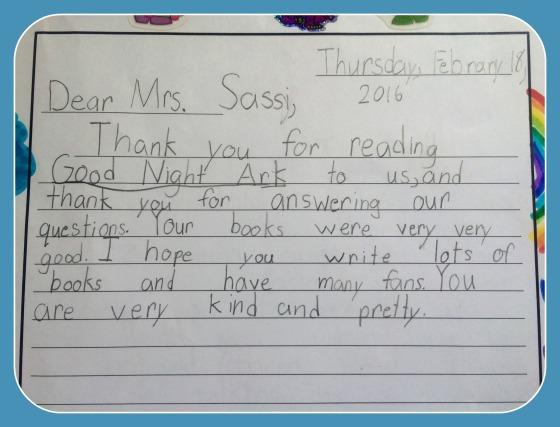 2nd grade skype letter A