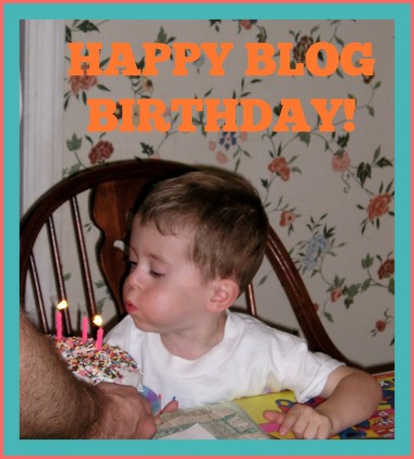 Happy blog birthday