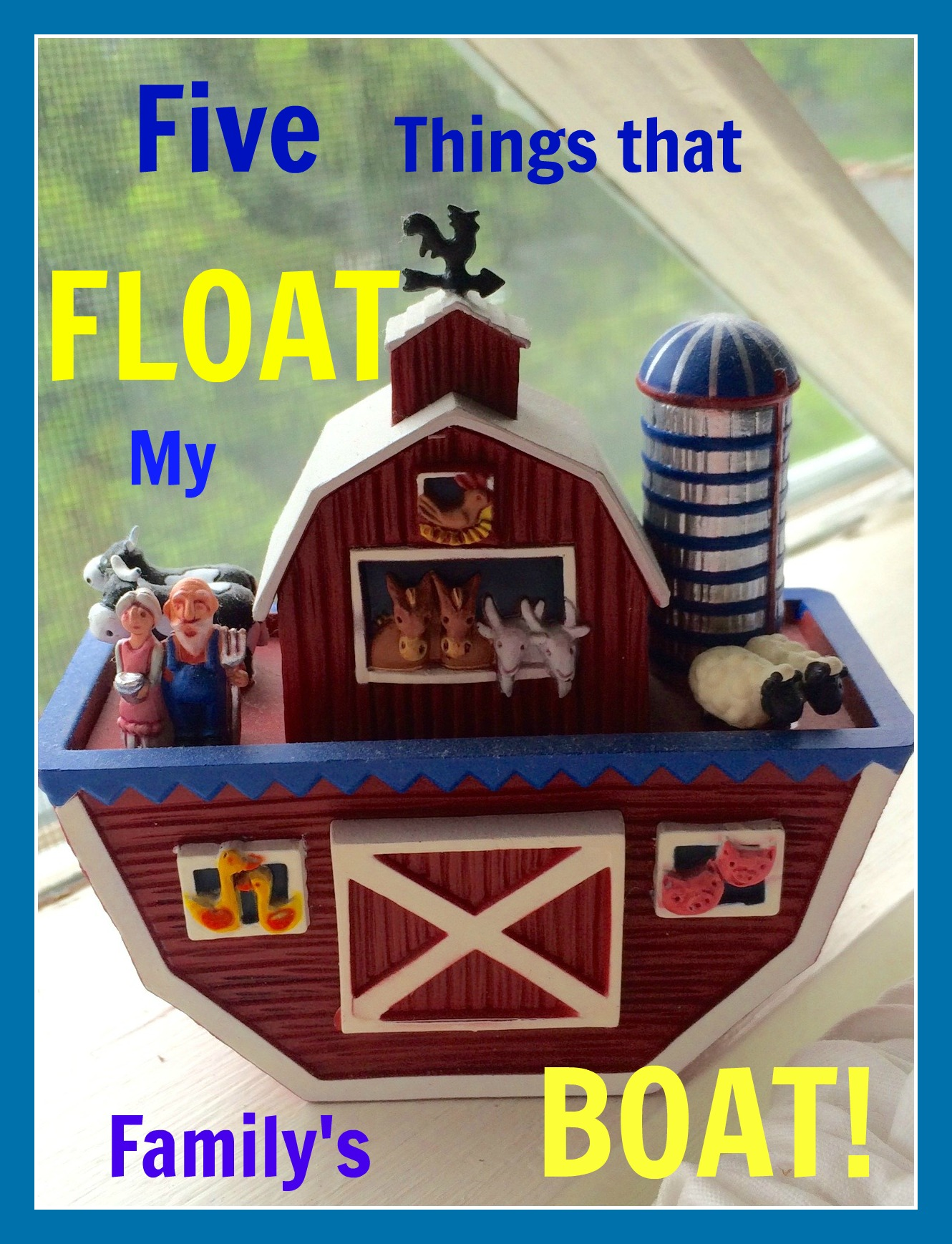 Five things float boat