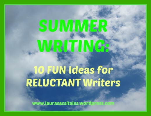 Summer writing pic