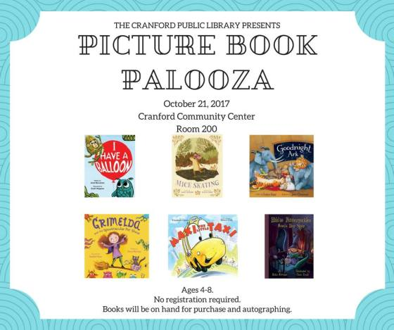 Cranford Picture Book Paloooza