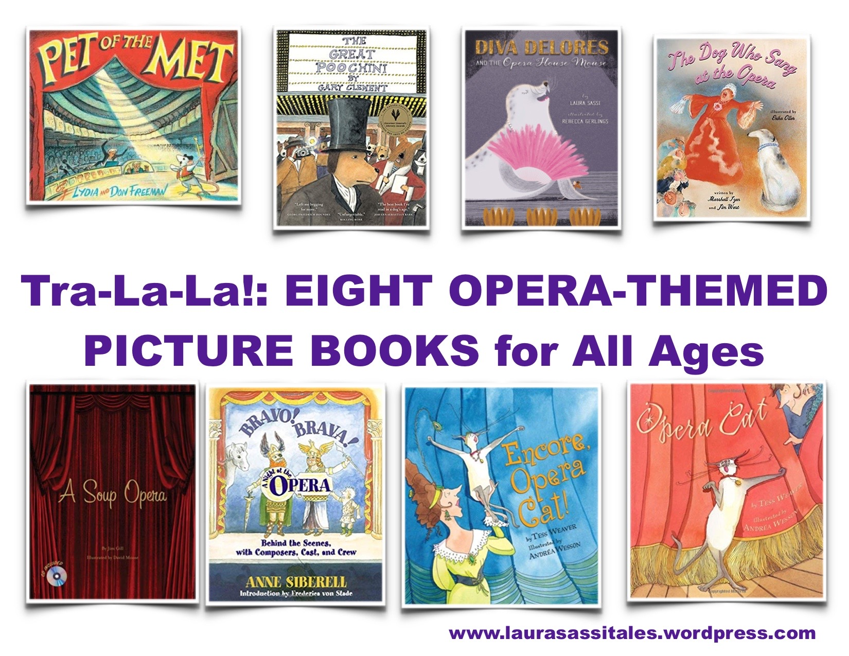 opera-themed picture books