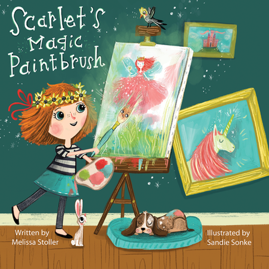 Scarlet's Magic Paintbrush