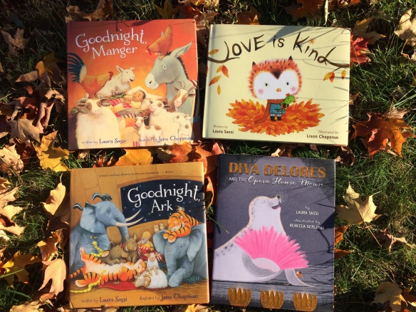 HOLIDAY GIFT IDEA: Signed Picture Books!   Laura Sassi Tales