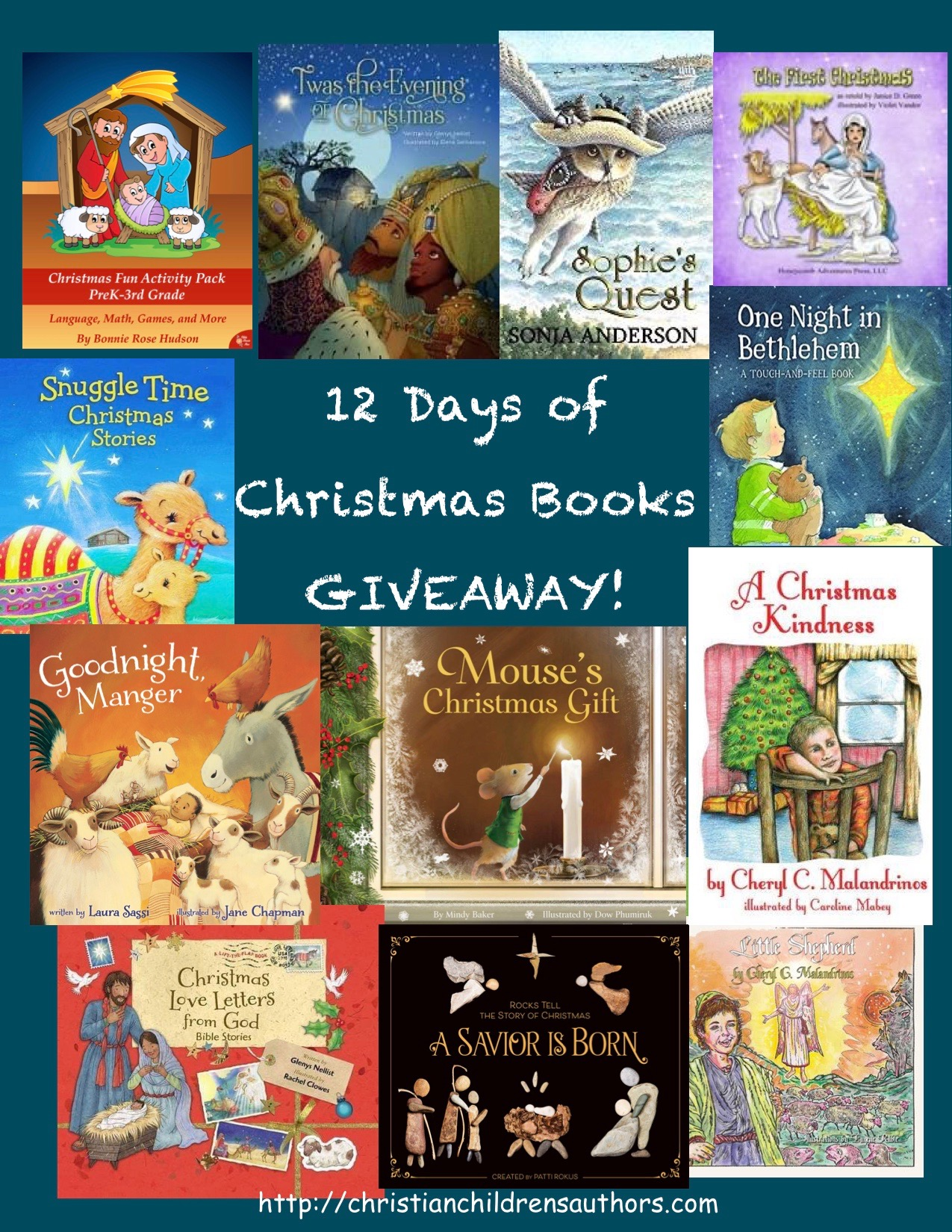 12 Days Of Christmas Books Giveaway Goodnight Manger Laura Sassi